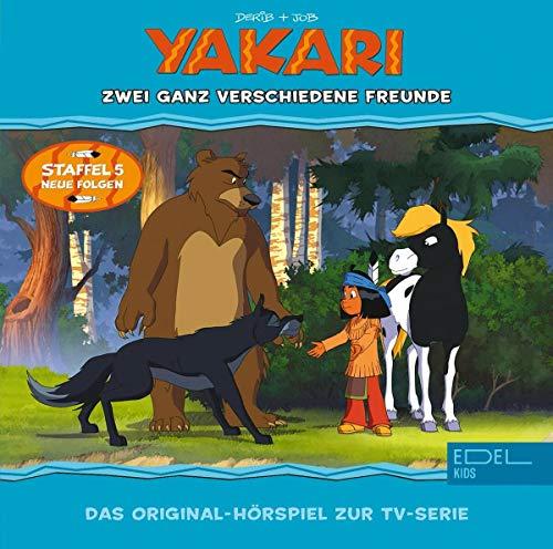 Yakari - Zwei ganz verschiedene Freunde - Folge 37 , Das Original-Hörspiel zur TV-Serie