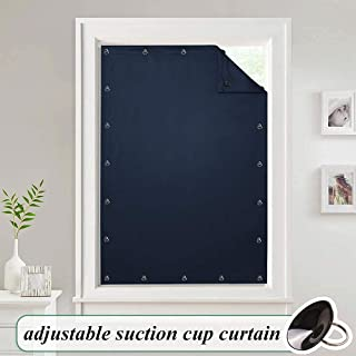 StangH Travel Blackout Curtains Blinds - Portable Thermal Insulated Blinds Curtain Privacy Window Cover with Adjustable Su...