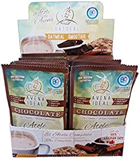 Avena Ideal Oatmeal Smoothie, Chocolate With Cinnamon, Gluten Free Oats, Vegan, 12