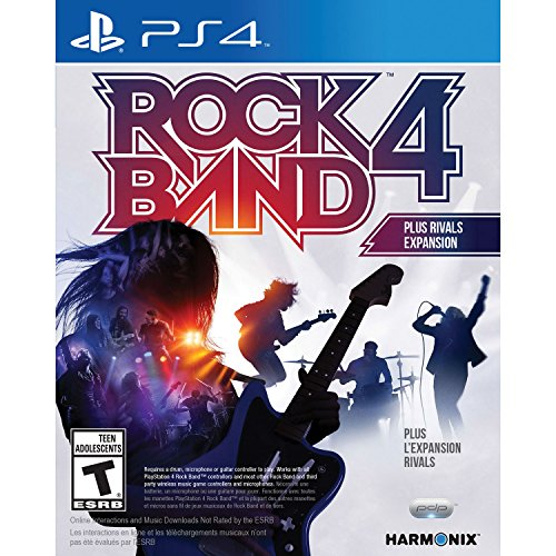 Rock Band 4 Plus Rivals Expansion