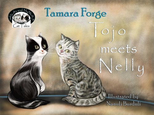 Tojo meets Nelly (Tojo and Nelly's Cat Tales Book 1) (English Edition)