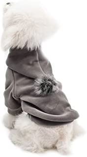 ERBAO Pet Clothes for Dog Cat Puppy Hoodies Coat Winter Sweatshirt Warm Sweater Dog Outfits