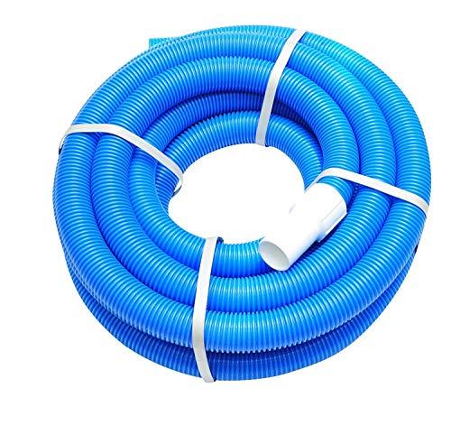 well2wellness Poolschlauch/Schwimmbadschlauch 38mm mit Schlauchtüllen an beiden Enden - 10 m lang