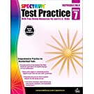 Spectrum Grade 7 Test Practice Workbook—7th Grade Math and English Language Arts Reproducible, Practice for Standardized Tests With Answer Key (160 pgs)