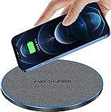 20W Chargeur sans Fil Rapide FDGAO Chargeur à Induction Qi Compatible avec iPhone 13/12/12 Mini/12 Pro/12 Pro Max/11/11 Pro/11 Pro Max/XS Max/XR/XS/X/8 Plus/8;Samsung Galaxy S21/S20/S10E/S9/Note 20/10