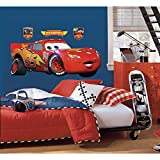 Toy Zany - Disney Pixar Cars Rayo Mcqueen Cáscara Y Del Palillo Giant Wall Decals