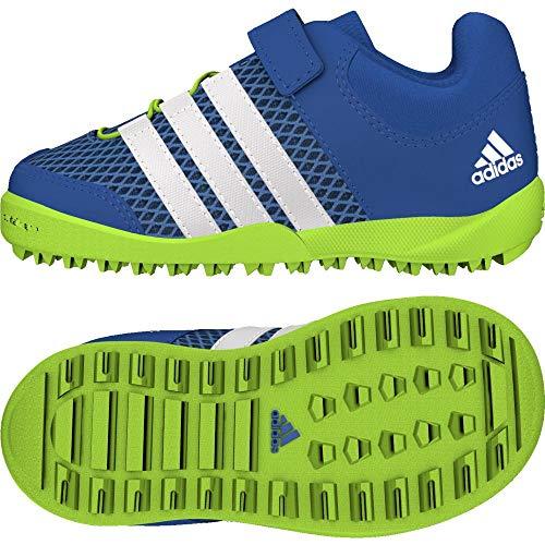 adidas Unisex Baby Daroga Plus AC Sneaker, Blau (Sslime/Cwhite/Traroy 000), 22 EU