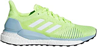 adidas Women's Solar Glide ST Running Shoes Hi-Res Yellow/Cloud White/Ash Grey