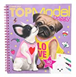 Depesche 10190 Create Your Doggy Livre de coloriage Multicolore
