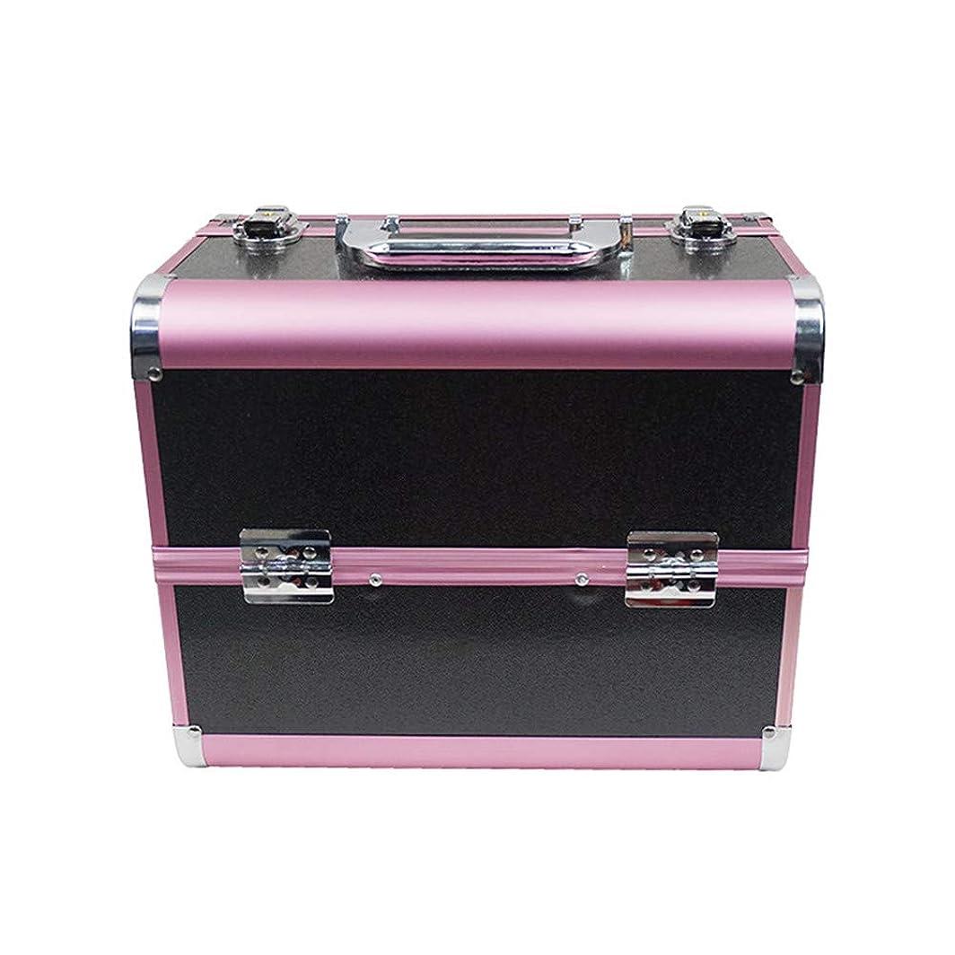 好ましい無線変位化粧オーガナイザーバッグ 大容量ポータブル化粧ケース(トラベルアクセサリー用)シャンプーボディウォッシュパーソナルアイテム収納トレイ 化粧品ケース