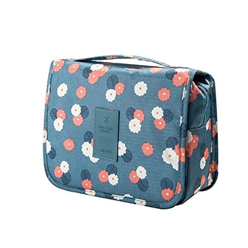 ALWAFLI Multi Functional Travel Organizer Accessory Toiletry Cosmetics Bag Makeup or Shaving Kit Pouch for Men & Women    Hanging Toiletry Bag Travel Organizer (Color May Vary)