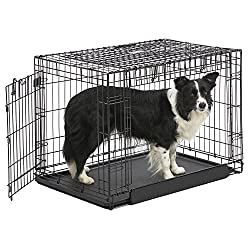 Ovation Folding Dog Crate | Dog Crate Features Space-Saving