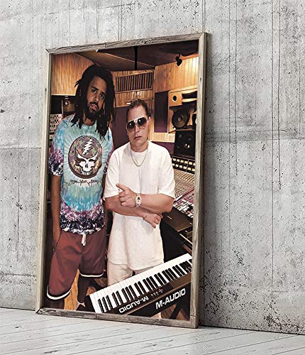 J. Cole and Scott Storch Poster Print