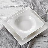 Vancasso Lolita Porzellan Geschirrset, 12-teilig Teller Set für 6 Personen, mit je 6 Speiseteller und Suppenteller - 5