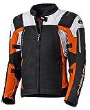Held Antaris motociclo Giacca Sportiva, nero/arancione