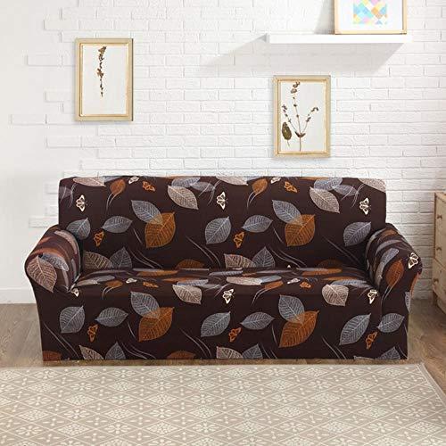 YYBF Funda de sofá Gris Fundas para Muebles elásticas Fundas de sofá elásticas para Sala de Estar Funda de Asiento con Funda Deslizante Sofá de Spandex 1-4 plazas, Color 12,4-Seater (235-300cm)