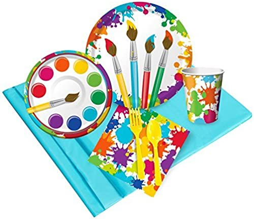 Art Party Supplies - Party Pack (24) by BirthdayExpress