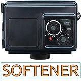 AFWFilters Fleck 2510 metered water softener head replacement valve, Black