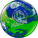 Ebonite Maxim Bowling Ball, Cool Water, 6-Pound