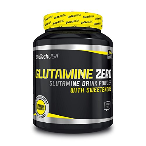 BioTechUSA Glutamine Zero Drink Powder, Lemon