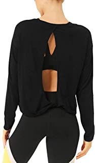 Best open back yoga sweater Reviews