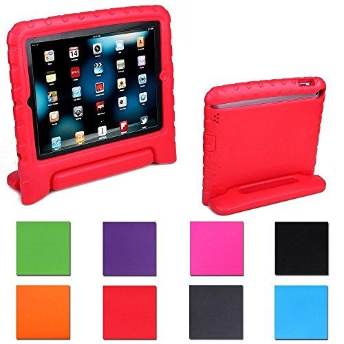 Aken Kids Light Weight Shock Proof Handle Case for iPad Mini / Mini 2 / Mini 3 (Red)