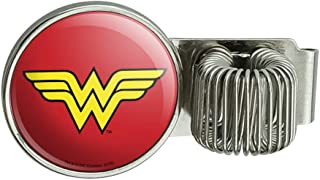 Wonder Woman Classic Logo Pen Holder Clip Accessory for Planner Journal Appointment Book Diary Notebook