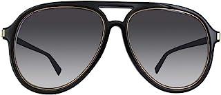 Marc Jacobs Men's Marc 174/S 9O 2M2 58 Sunglasses, Black Gold/Dark Grey SF