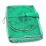 Dpliu 3.2m Langosta Camarón de la gamba Anguila Viva Trampa Neto Cebo de Pesca Pot Largo del Tubo de Malla de Nylon Cangrejo Cangrejo de río