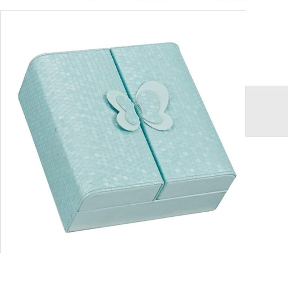 枯渇するレベルそっとHTTSSH ジュエリー収納ボックスのヨーロッパ多機能イヤリング、宝石箱のイヤリング、ボックスイヤリング HTTSSH