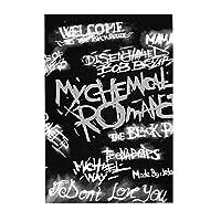 絵のパズル My Chemical Romance (3)300ピース益智減圧玩具木製パズル 親子ゲーム おもちゃ 教育パズルのおもちゃギフトのため 画像パズル38.3*26cm