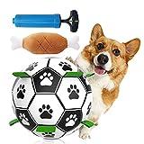 JINGYOUDAMAI Hund Fußball,Hundefußball Intelligenzspielzeug,Hundespielzeug Ball, Spielzeug Hund...