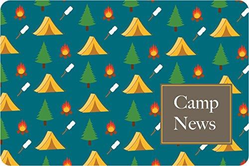 "Camp Grounds Camp Postcards   Kid Postcards   Camp Stationery   6"" X 4"" Postcards for Kids"