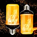 Pretigo LED Flame Effect Fire Light Bulbs