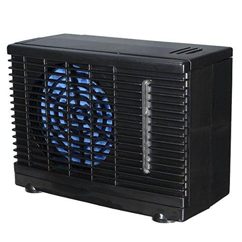 C-FUNN 12V Portátil Home Car Refrigerador Refrigeración Ventilador Agua Hielo Aire Acondicionado Evaporativo