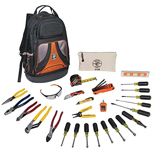 Klein Tools 80028 Electrician Hand Tools Set - 28 Piece,...