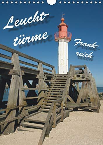 Leuchttürme Frankreich (Wandkalender 2021 DIN A4 hoch): Leuchttürme an Frankreichs Westküste (Monatskalender, 14 Seiten )