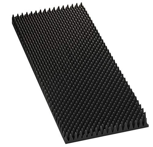 Monacor 12.2220 40mm LS-isolatieschuim, grijs (set van 2)