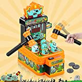 Jumpit Whack-A-Mole Game Zombie War, Mini Electronic Arcade Game with 2 Hammers, Pounding Toddler Toys for 3 4 5 6 7 8 Years Old Boys Girls,Gift for Kids, Developmental, Interactive Toy