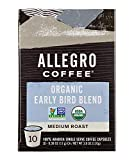 Allegro Coffee Organic Early Bird Blend Coffee Capsules, 3.8 oz, 10 ct