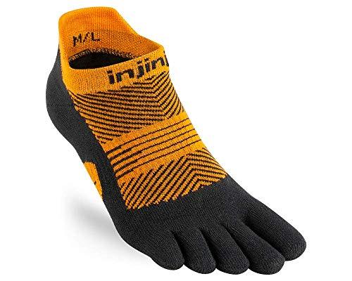 Injinji Run Lightweight No Show Toe Socks Tiger Ladies Size : 35-40