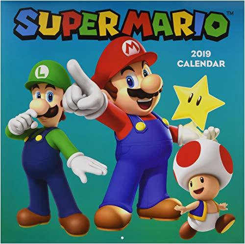 2019 Wall Calendar, Super Mario