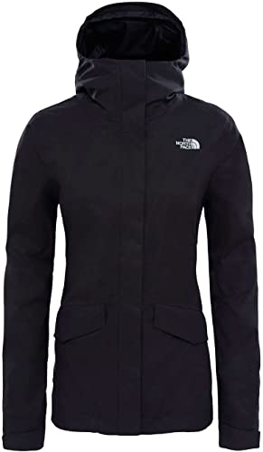 North Face W All Terrain Zip-in Jacket Veste, Femme, Noir (TNF noir)