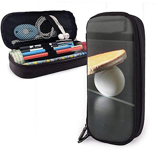 Portapenne da tavolo per palline da ping pong, porta pennarelli, borsa per trucco cosmetico, custodia per matita per cancelleria