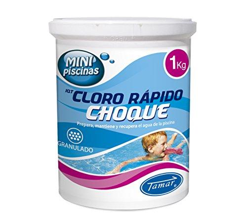 Tamar Cloro Choque Accion Rapida Especial para Mini Piscinas, 1 Kilo
