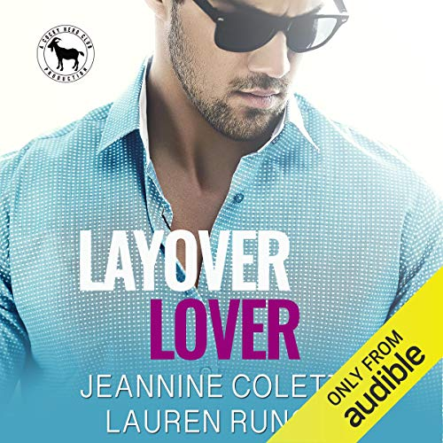 Layover Lover audiobook cover art