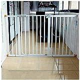 ベビーゲート フェンス ドア付き 金属アジャスタブル赤ちゃんペットの安全ゲート階段ゲート自動近い圧力では、マウント拡張スタンド78センチメートル幅が61から222に選択することができ、背の高いです (Color : Height 78cm Width, Size : 75-82cm)