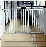 J+N Sicherheitstür Teleskop Baby-Sicherheits-Gates-Auto Close Dual Lock Zaun mit Tür Gerade Bar Leitschiene Hund Zaun Isolation Baby Kind Baby-Treppe Zaun Druck Berg Baby-Sicherheitstür