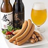 【Amazon.co.jp限定】 感謝ビール+ウインナーセット (ビール6本、厚木ハム ウインナー10本) 地ビール おつまみセット
