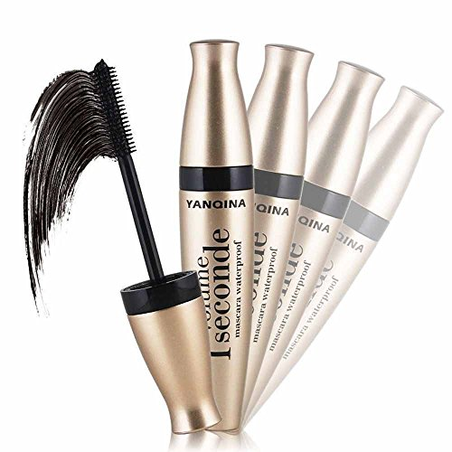 Transer Mascara 3D de fibre, long prolongateur de cils prolongeant l'outil d'extension imperméable de maquillage de yeux-noirs
